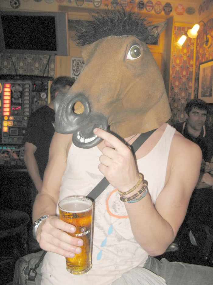 So this horse walks into a bar ...