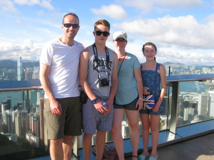 No one in the history of Hong Kong tourism ever thought to take the same photo atop Victoria Peak - seriously!