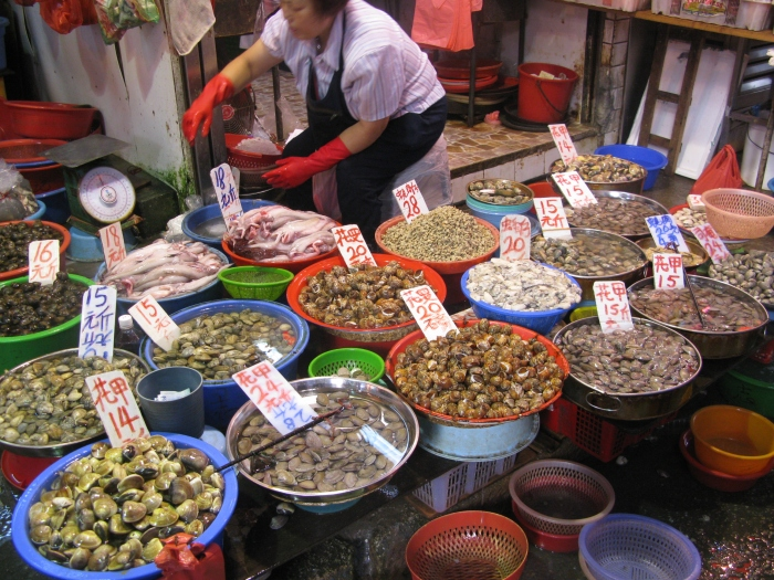 Mongkok's street markets cater to a wide variety of tastes.