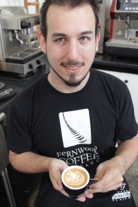 Fernwood Coffee's Rek Feldman.