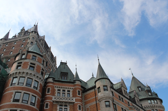 Chateau Frontenac, said to be the most photographed hotel in the world and surely the inspiration for Harry Potter's Hogwarts.