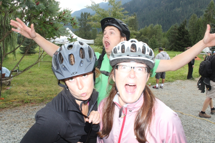 It's fair to say that the coffee kicked in early on the Pemberton slow food cycle this summer.