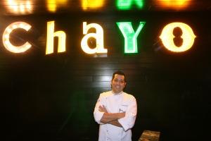 Chayo chef, Ernesto Zendejas.
