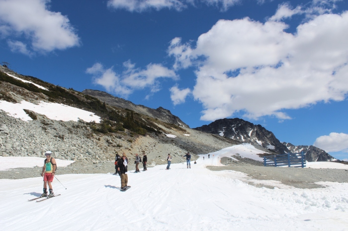 Several runs atop Blackcomb and the Horstman Glacier are open for skiing and boarding until late July.