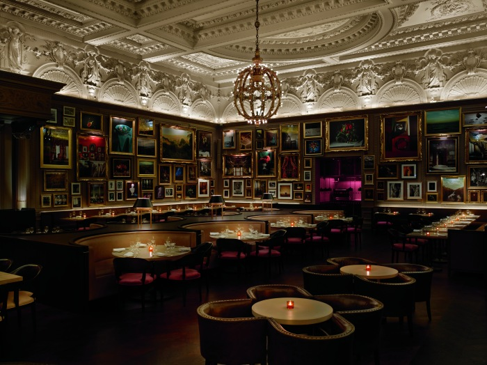 Berners Tavern, at the London Edition hotel, is the sort of place Agatha Christie might have set a mystery. Nikolas Koenig photo