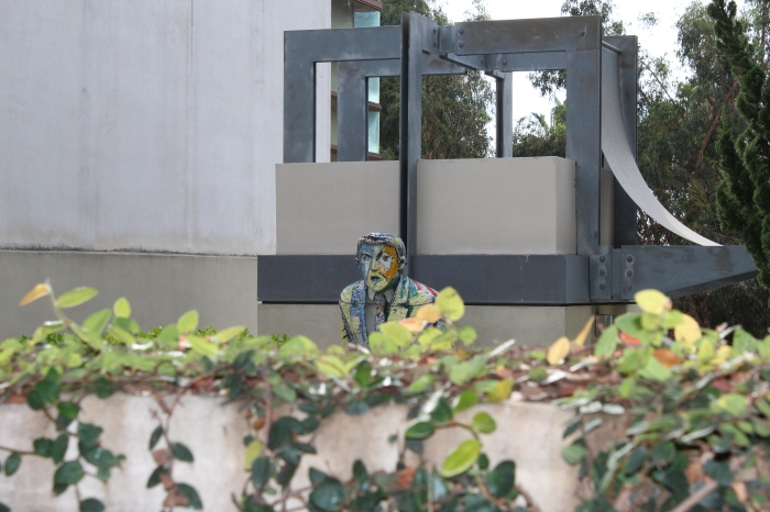Bel Air residents don't get angry at intruders, their sculptures do.