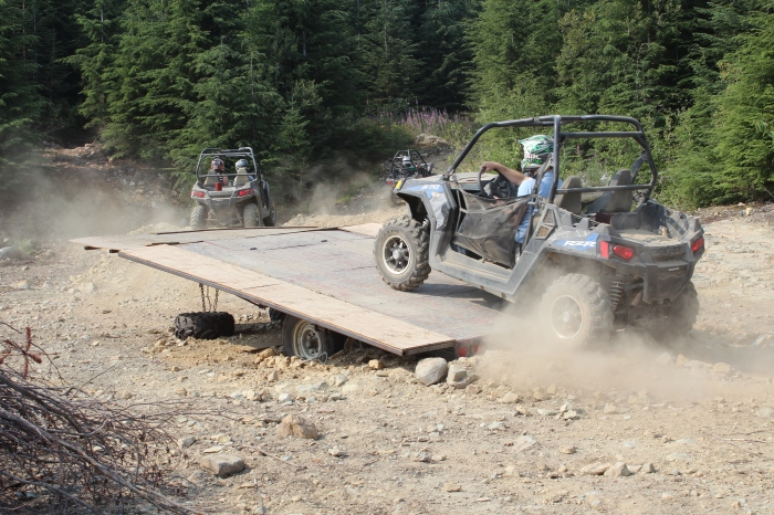 The Polaris 570 cc RZR has never met an obstacle it didn't like.