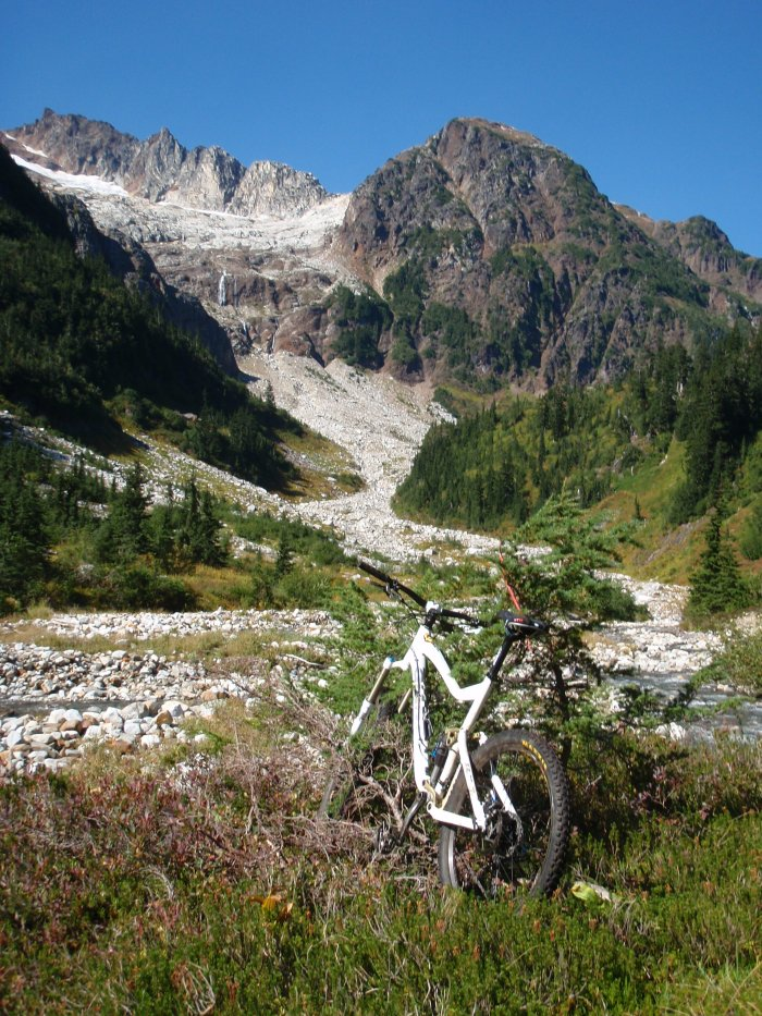 A self-described mountainbiking nut, Geoff Breckner rarely goes anywhere without his ride.