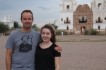 San Xavier del Bac with Emma